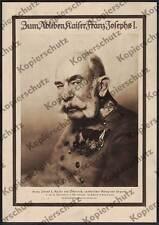 Hedde Rode Kaiser Franz Joseph I. Habsburg Uniform Orden K.u.K. Adel Wien 1916
