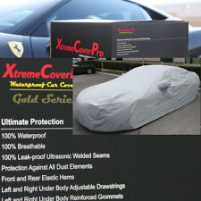 2010 2011 2012 Mitsubishi Eclipse Waterproof Car Cover w/MirrorPocket GREY
