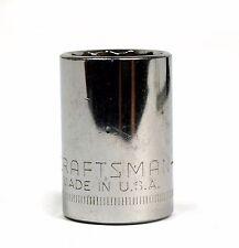 "Craftman G2 44238 1/2""Drive Metric 19mm Socket 12 Point"