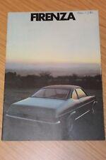 Vauxhall Firenza Sales Brochure 1971