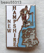 NEW HAMPSHIRE STATE USA  VEST JACKET HAT TAC BIKER PIN