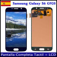 PANTALLA PARA SAMSUNG GALAXY S6 G920F G920 LCD TACTIL DIGITALIZADOR DISPLAY Azul
