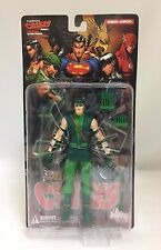 "DC DIRECT IDENTITY CRISIS SERIES 1 GREEN ARROW 7"" ACTION FIGURE MICHAEL TURNER"