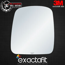Driver Side Mirror Glass Fits Chevy GMC Express 1500 GM Savana Left Adhesive LH
