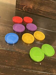Disney Baby Einstein Count & Discover Treasure Chest  9 Coins replacement