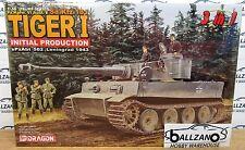 DML Dragon WWII Pz.Kpfw. VI Ausf.E (Sd.Kfz.181) Tiger I plastic model kit 1/35