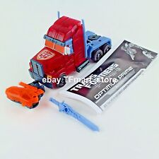 Transformers Prime Robots in Disguise Dark Energon Exclusive Optimus Clear