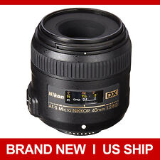 NEW Nikon AF-S DX Micro NIKKOR 40mm f/2.8 G Lens 40 F2.8 for D7100 D5500 D3300