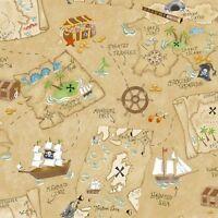 Pirate Treasure Map Pirates Peel & Stick Dry Erase Board
