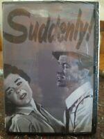 Suddenly New DVD James Gleason Frank Sinatra Hayden Sterling Sealed 1954 Drama