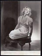 ILONA MASSEY sexy Hungarian singer actress 1940 VINTAGE ORIG PHOTO