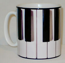 Piano Keyboard Mug Can Personalise Pianist Forte Player Music Musician Keys Gift