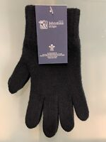 100% Lambswool Gloves | Johnstons of Elgin | Made in Scotland | Black | Warm
