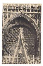 la cathédrale de rouen  rosace de la façade