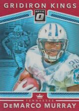 2017 DONRUSS OPTIC DeMARCO MURRAY TITANS GRIDIRON KINGS #26 RED PRIZM 52/99 SP