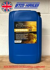 HYDRAULIC OIL ISO 32, Synergy® Hydrus 32 x 20L THE UK'S ONLY SYNERGY DISTRIBUTOR