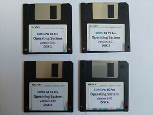 Korg PA 1X Pro - Floppy Disk Operating System and Musical Resources CD
