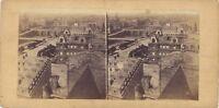 Parigi Panorama Con I Ponti Foto Stereo Vintage Albumina Ca 1860
