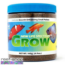 New Life Spectrum GROW Small Pellet 140g Baby Fish Food Fast Free USA Shipping
