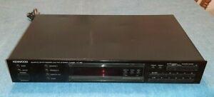 Vintage Kenwood KT-88 AM FM Home Receiver TESTED No Remote