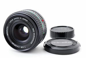 [MINT] MINOLTA MD W.ROKKOR 35mm f2.8 Wide Angle Lens From JAPAN #037