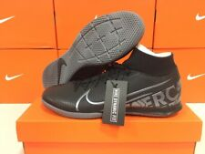 New Nike Men's Superfly 7 Academy Ic Soccer Shoes (Black/Cool Grey) Size: 10.5