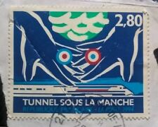 France stamps - Channel Tunnel - Franco-British Joint Issue - 1994 2,80 franc