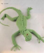 """DK Knitting Pattern Toy Animal Iguana 24"""" Long"""