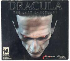 Drácula el último santuario video juego de PC, Windows