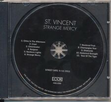 Strange Mercy by St. Vincent (CD 2011, 4AD (USA))  PROMO!   FREE SHIPPING