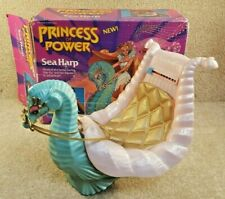 Vintage 1985 Mattel She Ra Princess of Power Sea Harp Box Reins Cushion