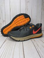 Nike Air Zoom Wildhorse 5 Mens Size 10 Trail Hiking Shoes AQ2222-002 Multicolor