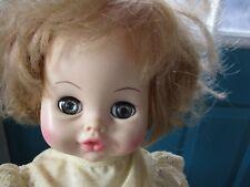 Vintage Horsman Dolls, Inc. Sleepy Eye Drink and Wet Vinyl 13-Inch Baby Doll