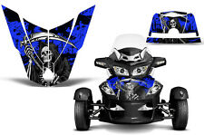 Can Am BRP RTS Spyder Roadster Hood Graphic Kit Decal Sticker Wrap 10-11 REAP U