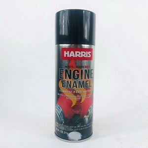 HARRIS 38126 GLOSS BLACK PAINT 11 OZ. QUICK DRYING RUST ELIMINATOR, RESIST 500°F