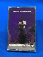 Calvin Richardson – Country Boy | Cassette Tape Album 1999 R&B Soul Funk SEALED