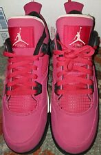 Nike Air Jordan Retro IV Valentine's Day Voltage Cherry 7Y 487724-601 Women 8.5