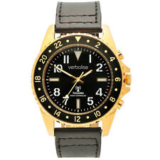 Verbalise Gold Men's Talking Global Radio Controlled Watch Deluxe Range