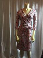 NWT. DVF. Diane Von Furstenberg New Julian Two  Wrap Dress  Size 4