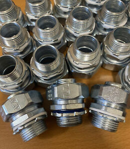 Appleton st-75 Sealtight Straight Connector LOT Qty 20 NOS