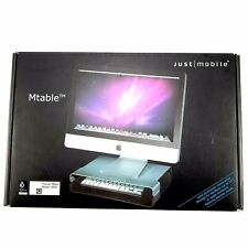 JUST MOBILE M TABLE MACBOOK LAPTOP KEYBOARD DESKTOP ORGANISER MONITOR STAND