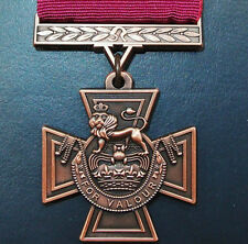 **REPLICA WW1 WW2 KOREA VIETNAM IRAQ AFGHANISTAN WAR VICTORIA CROSS MEDAL V.C.