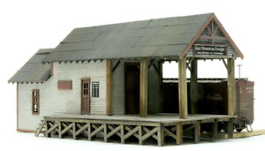 HO Scale Banta Modelworks RED MOUNTAIN FREIGHT Laser Cut Kit Item #2070