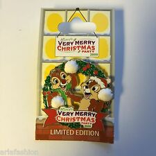 WDW - Mickey's Very Merry Christmas Party 2009 - Chip and Dale Disney Pin 73787