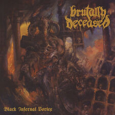 Brutally Deceased - Black Infernal Vortex (Vinyl LP - 2014 - EU - Original)
