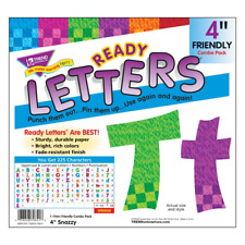 Snazzy 4Inch Display Letters Classroom Decoration Notice Boards - 225 Characters