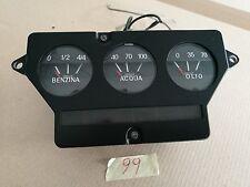 Strumentazione indicatore Benzina Acqua Olio Lancia Flavia 1800-2000 coupè
