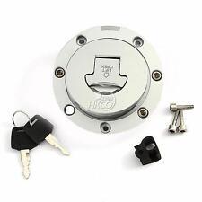 Chrome Fuel Gas Cap Cover&Key Set For Honda CBR900 893 919 CBR1000F CB1000 New