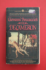 THE DECAMERON by Professor Giovanni Boccaccio;1st Mentor Ed. (Paperback, 1982)