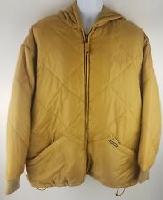 G Unit Certified Heavy Weight Raw Materials Men's LG Golden Color Puffer Jacket